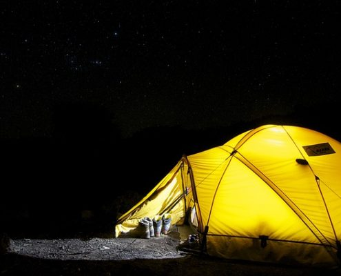 LED Laternen für Camping